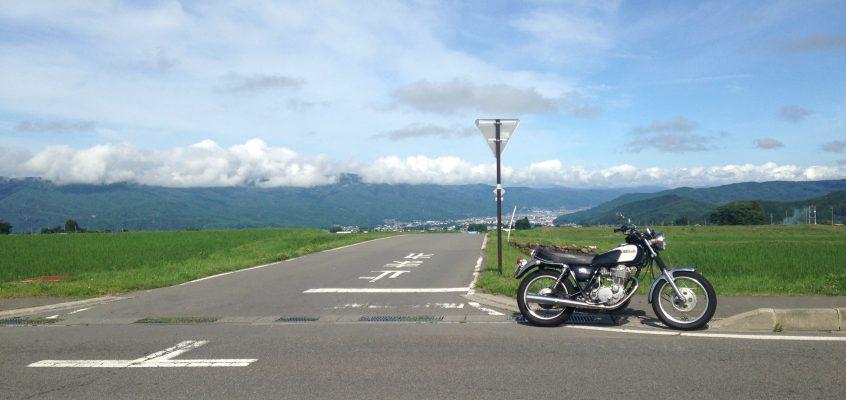 長野県まで一人ツーリング!