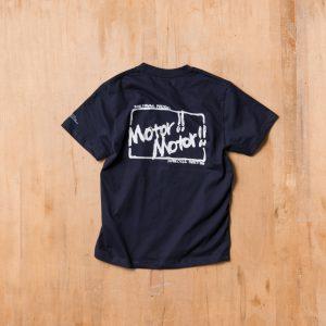 Motor!!Motor!! T-shirts  – モーター!!モーター!!Tシャツ  NAVY
