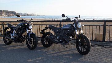 """勝手にレビュー """"YAMAHA MT-07″& """"Ducatiスクランブラー400"""""""